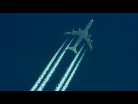 CONTRAIL SPOTTING MAY 2014