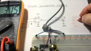 Op-Amps, Part 1: OpAmp LM324N Comparator