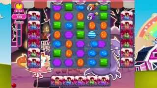 Candy Crush Saga 725 HIGHEST LEVEL!!  No Boosters