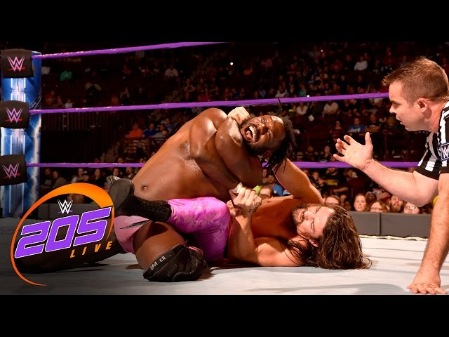 The Brian Kendrick vs. Rich Swann - WWE Cruiserweight Title Match: WWE 205 Live, Nov. 29, 2016