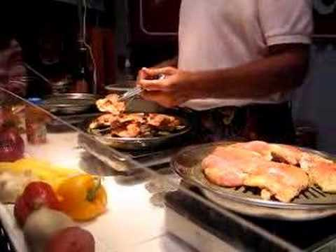Indoor Smokeless Stove Top Grill - YouTube