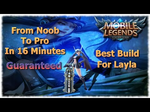 Mobile Legends Best Build For Layla | Unbeatable Guide