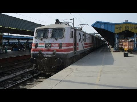 Full Journey Compilation in Rajdhani Express :New delhi to Mughalsarai jn