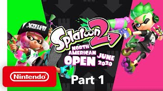 Splatoon 2 NA Open June 2020 - Finals - Part 1