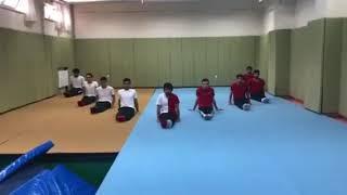 Selçuk Üniversitesi Spor Bilimleri Fakültesi Cimnastik Final Karografisi