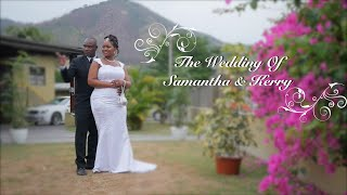 Samantha and Kerry  Wedding in Diego Martin Trinidad by Rankin Production