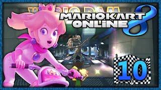 Mario Kart 8 Online Part 10: Rosagold-Peach mit Renn-Bike!