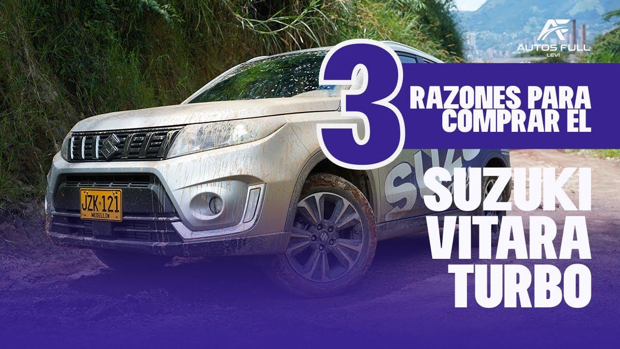 3 Razones para Comprar el Nuevo SUZUKI Vitara Live Turbo