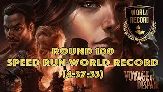 Voyage - 100 Speed Run (Former) World Record 🏆 All Elixers (4:37:33) - BO4  Zombies