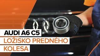 Ako vymeniť Lozisko kolesa na AUDI A6 Avant (4B5, C5) - video sprievodca