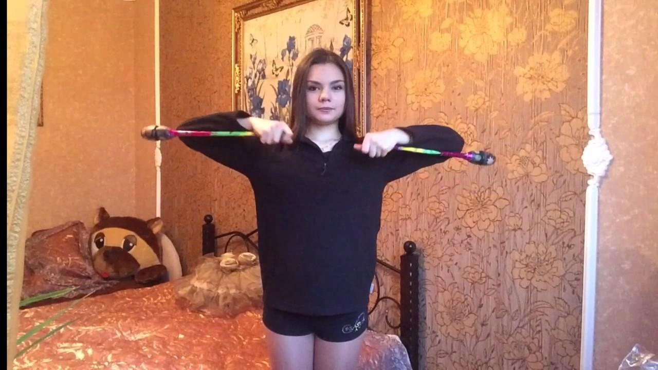 Передача : Шаги к Успеху !))) Как сделать боковую улитку булавами !)