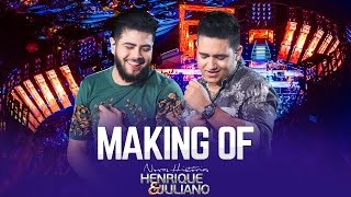 Henrique e Juliano - Making OF - DVD Novas Histórias - Ao vivo em Recife