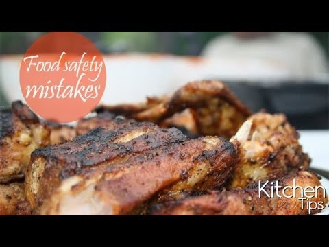 Food safety mistakes to be avoided