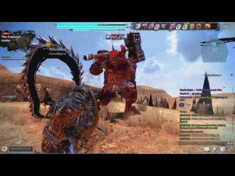 Vindictus Fomorian Leader Kai gameplay