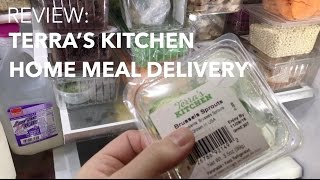 REVIEW: Terra's Kitchen Home Meal Delivery Service