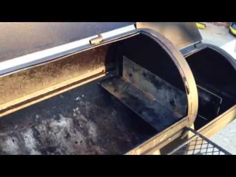 Oklahoma Joe Longhorn Mod with Metal Plates