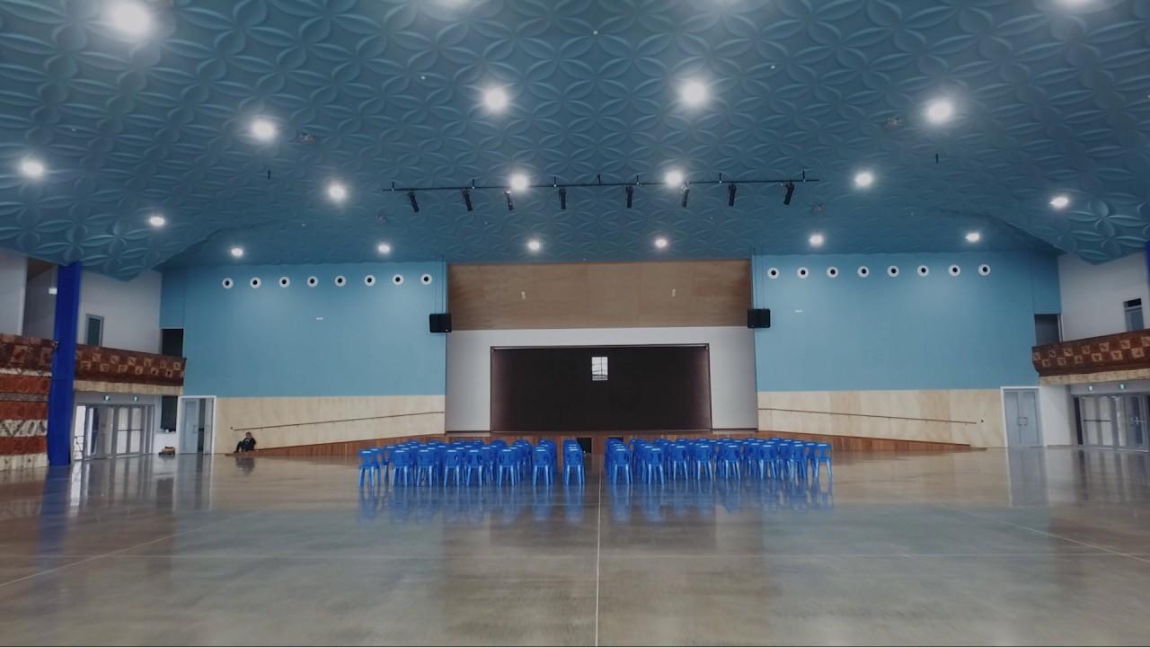 Free Wesleyan Church Of Tonga - Autex Quietspace® 3D Tiles - YouTube