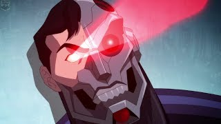 Cyborg Superman vs Kal El [Part 2] | Reign of the Supermen