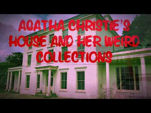 Agatha Christie's Greenway House And Her Weird Collections #agatha Christie #poirot #greenway #devon