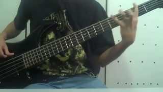 Nile - Ithyphallic bass cover
