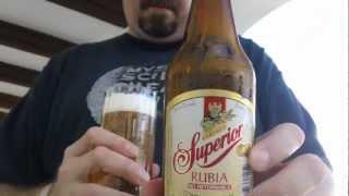 Beer reviews in MEXICO! 2 for 1! Cerveza Superior &  Montejo.