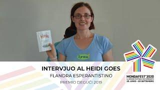 #mondafest2020 Intervjuo kun Heidi Goes