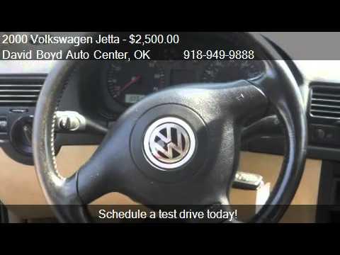 2000 Volkswagen Jetta GLS VR6 - for sale in Tulsa, OK 74145