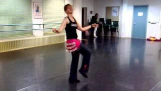 Choreografie Sulena - cursus Kunstenhuis - Bet