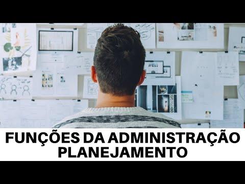 FUNÇÕES DA ADMINISTRAÇÃO - PLANEJAMENTO