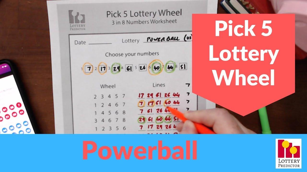 Win The Powerball Lottery - Powerball Lottery Wheel Strategy - YouTube