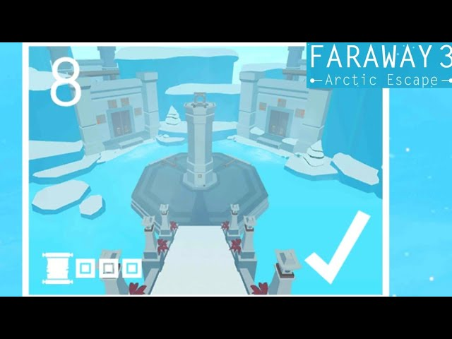 Faraway 3 Arctic Escape Level 8 All Notes Walkthrough