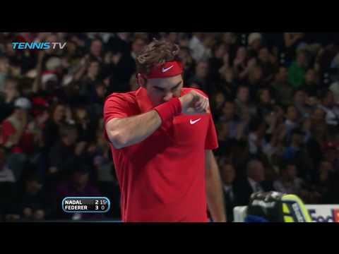 Roger Federer vs Rafa Nadal: Best Points at ATP Finals