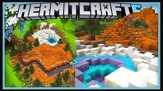 Hermitcraft Season 6: First New Biome Design!  (Minecraft 1.13.1 survival  Ep.23)