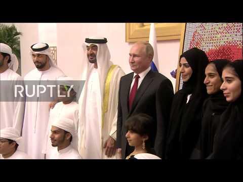 UAE: Putin finishes