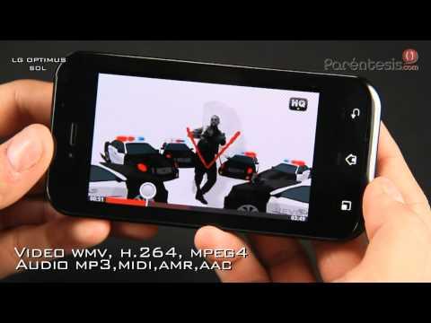Celular LG Optimus Sol (LG E730F)