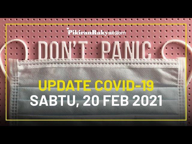 [UPDATE] Kasus Covid-19 Indonesia Hari ini, Sabtu 20 Februari 2021, Kasus Aktif Berkurang Lagi!