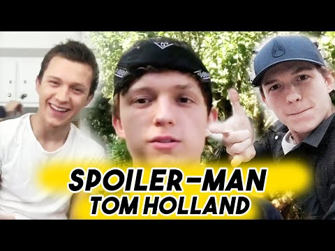 Spoiler-Man Tom Holland - The Ultimate Avengers Dork  Funny Moments