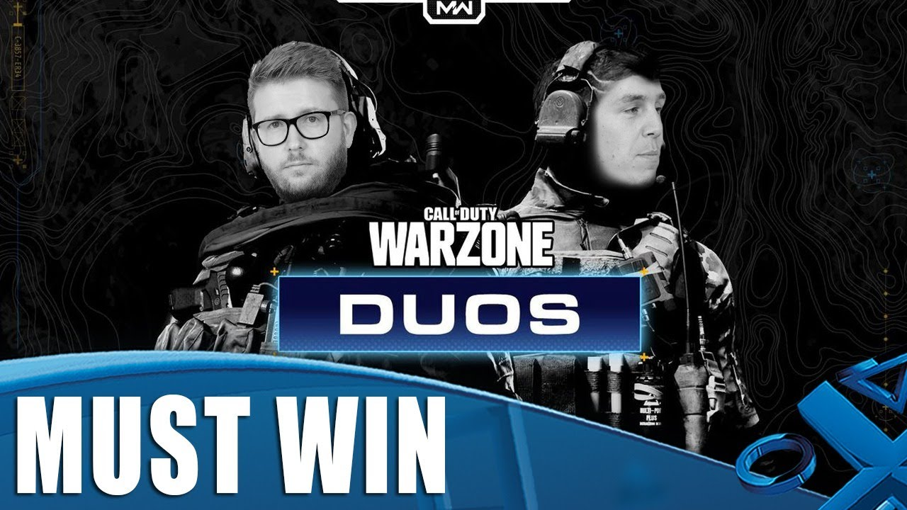 Warzone: Duos - Must Win (or be very embarrassed)