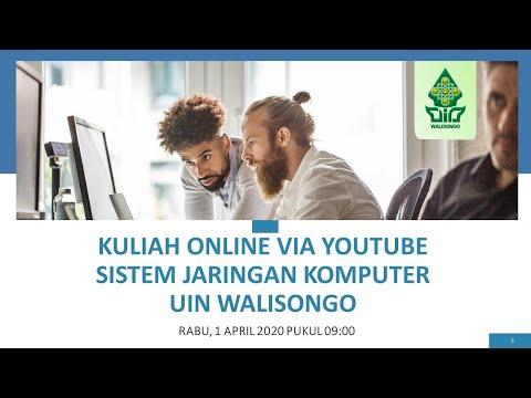 Kuliah Online Pertemuan 9 Sistem Jaringan UIN Walisongo Semarang