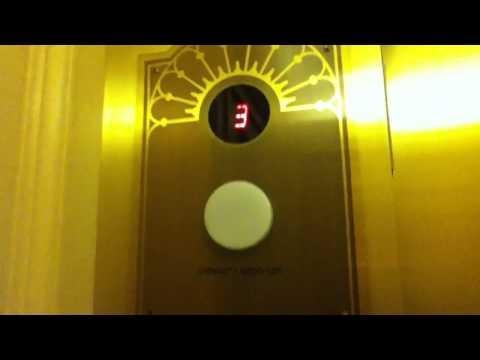 Otis Traction Elevator @ Milwaukee Public Library South Entrance
