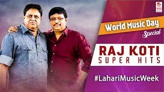 Raj - Koti Telugu Super Hit Songs   Telugu Classic Songs   World Music Day 2017