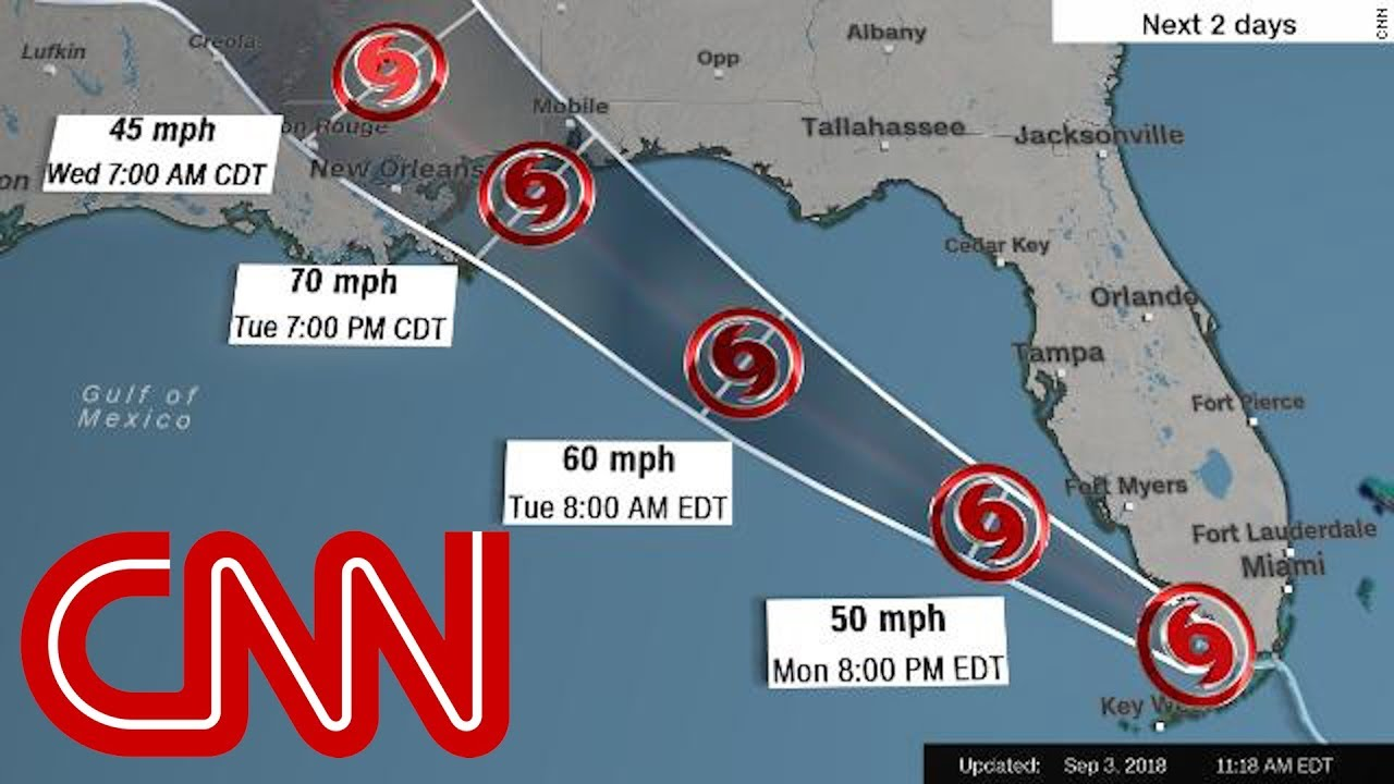 Gulf Coast residents warned to prepare for a Category 3 hurricane ...