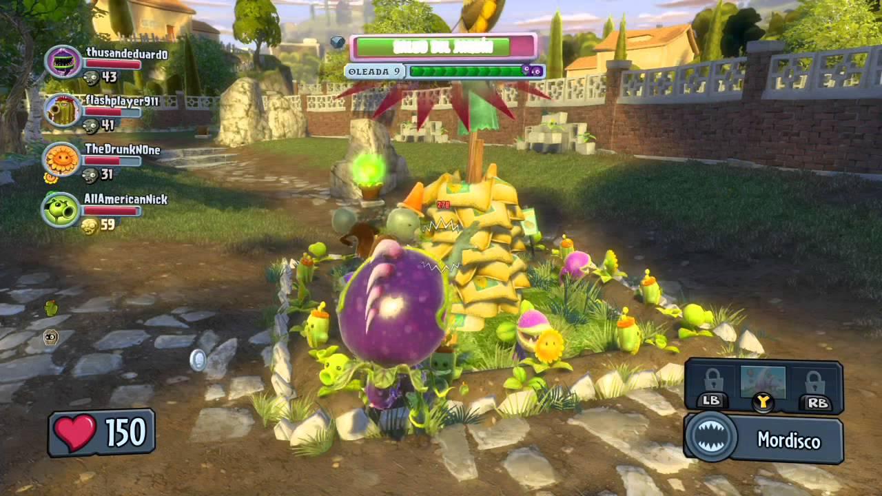plantas vs zombies garden warfare operaciones de jard n xbox one parte 2 youtube. Black Bedroom Furniture Sets. Home Design Ideas