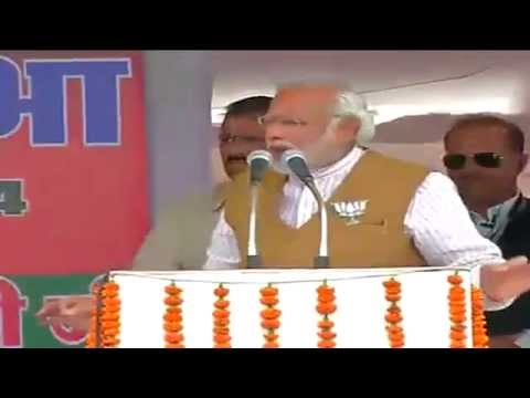 Shri Narendra Modi addresses Bharat Vijay Rally in Surguja, Chhattisgarh -  20th April 2014