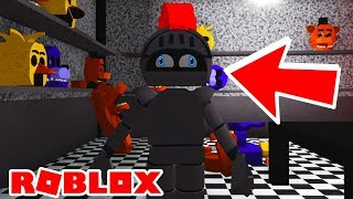I BECOME A FNAF ANIMATRONIC! Roblox FNAF Shadows of The Corrupted Rebooted