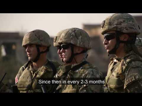 Georgian Military Police On Its Way To NATO