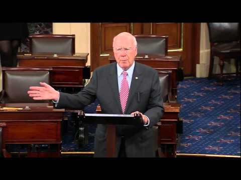 Senator Patrick Leahy On the Need to Support Refugees Fleeing Violence