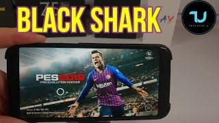 Black Shark gaming test after updates in 2019! ARK Mobile/PES 2019/Cyber Hunter Gameplay 60FPS