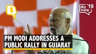 PM Modi Addresses Public Rally in Anand, Gujarat