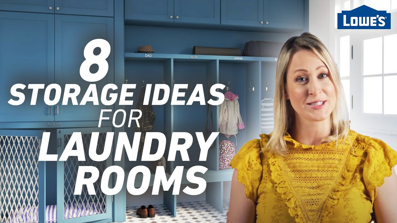 8 Storage Ideas for Laundry Rooms and Mudrooms